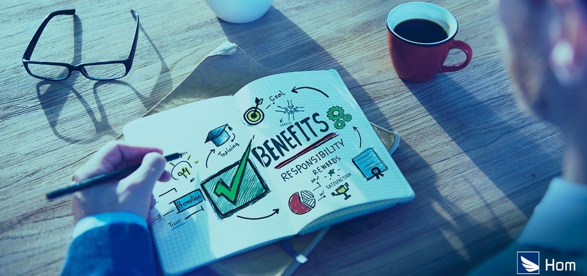 Benefícios para empresas com funcionários remotos